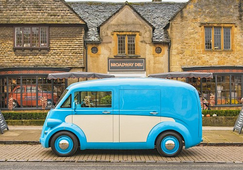 First new Morris van for 50 years is electric