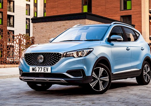 MG ZS EV achieves five stars in Euro NCAP safety test