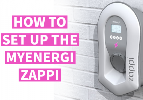 Setup guide – how to set up the myenergi Zappi charger and app